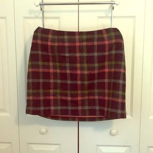 Boden plaid skirt British tweed by Moon 14